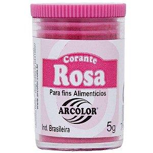 Corante em Pó Rosa Arcolor 5g