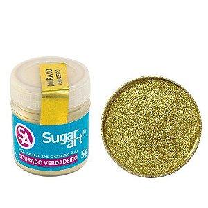 Pó Decoração Ouro Sugar Art  5g