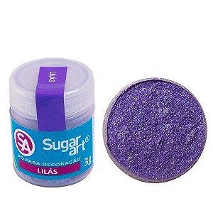 Pó Sugar Art Decoração Lilás 3g