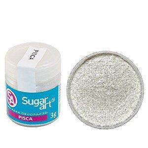 Pó Sugar Art Decoração Pisca 3g