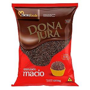 CACAU FOODS DONA JURA GRANULADO MACIO CHOCOLATE 1,005KG