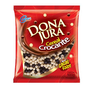 Cereal Mini Mesclado Dona Jura Cacau Foods 500g