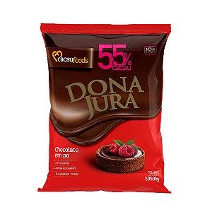 Chocolate em Pó 55% Dona Jura Cacau Foods 1,005kg