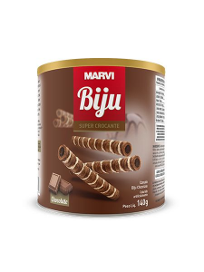 Canudinho Biju Chocolate Marvi 140g