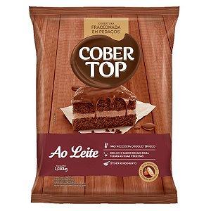 Cobertura Ao Leite Pedaços Cober Top 1,01kg - Validade 07/08