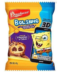 Bolinho Gotas Chocolate Bauducco 420g