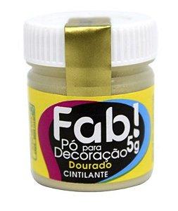 FAB PO PARA DECORACAO DOURADO 5G