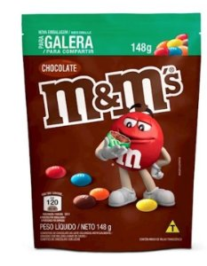 Chocolate M&M'S Pouch Ao Leite 148g