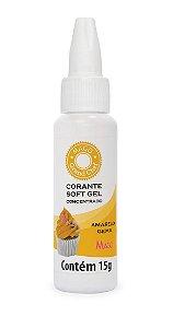 Corante Soft Gel Amarelo Gema Mago 15g