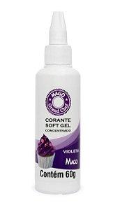Corante Sof Gel Violeta Mago 60g