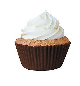 Forminha Cupcake Marrom Nº0 c/ 45 unid