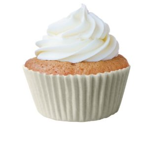 Forminha Cupcake Natural Nº0 c/ 45 unid