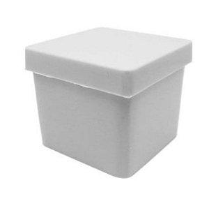 Caixinha Branca Aquarela 4x4cm 10 unid