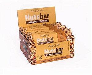 Nuts Bar Castanha e Frutas 300g