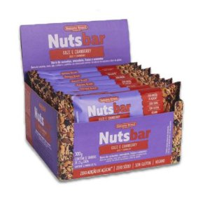 Nuts Bar Goji e Cranberry 300g