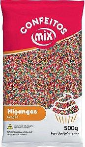 Confeito Miçangas 8 Cores MIX 500g