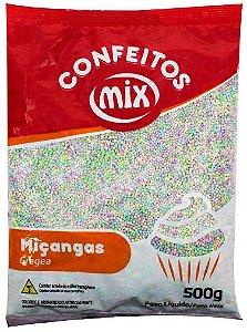 Confeito de Miçanga Candy Colors MIX 500g