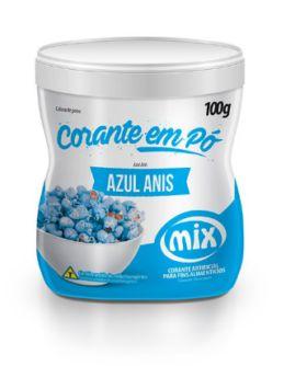 Corante em Pó Azul Anis MIX 100g