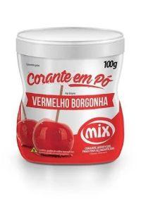 Corante em Pó Vermelho Borgonha MIX 100g
