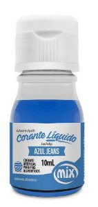 Corante Liquido Azul Jeans Mix 10ml