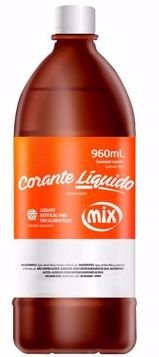 Corante Liquido Rosa Cereja Mix 960ml