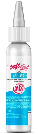 Corante Soft Gel Azul Anis MIX 25g