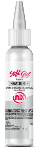 Corante Soft Gel Branco Leite MIX 25g