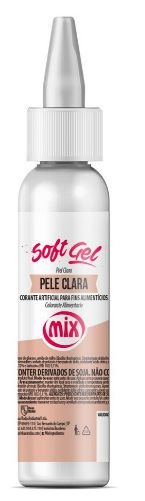 Corante Soft Gel Pele Clara MIX 25g