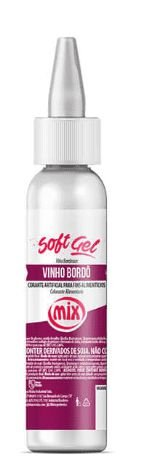 Corante Soft Gel Vinho MIX 25g