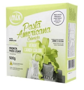 Pasta Americana Verde Candy MIX 500g