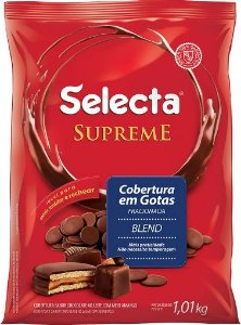 Cobertura Chocolate Blend Gotas Supreme 1,01kg