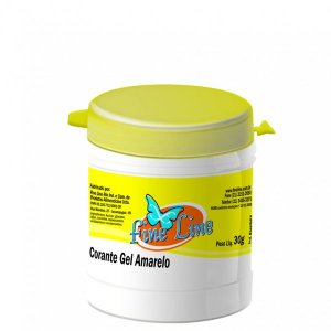 Corante Gel Amarelo Fine Line 50g