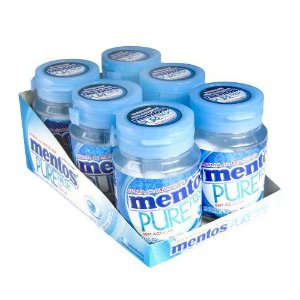 Chicle. Mentos Gar. Fresh Mint Perfetti 336g