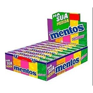 Pastilha Mentos mini tubo Rainbow Perfetti 428,8g