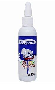 Corante Liquid Gel Azul Iceberg 60g