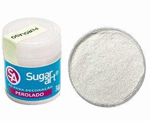 Pó Glitter Pérola Sugar Art 5g