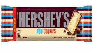 Tablete Chocolate Duo Cookie Hershey's 87g