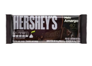 Tablete Chocolate Meio Amargo 92g