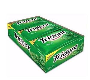 Chiclete Trident de Menta Verde 168g