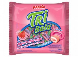 Tribala Yogurt de Morango Peccin 500g
