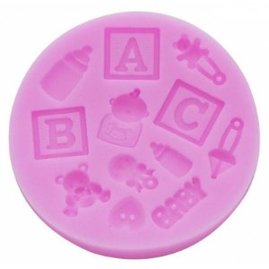 Molde em Silicone Baby 1unid Prime Chef