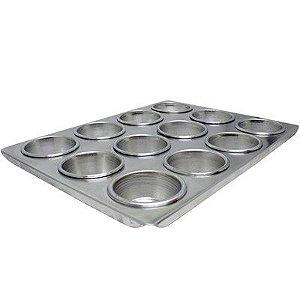 Forma Cupcake Grande 12 Muffins Roldan