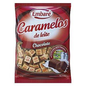 Caramelo Leite e Chocolate Embare 660g