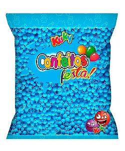 Confeitos Festa Azul Tutti-Frutti Kuky 500g