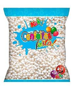 Confeitos Festa Branco Coco Kuky 500g