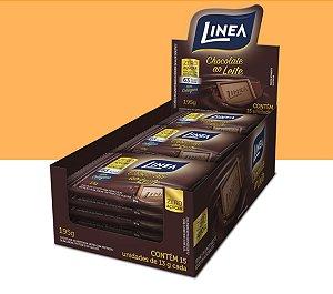 Chocolate Mini Barra Ao Leite Linea 195g