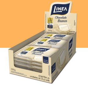 Chocolate Mini Barra Branco Linea 195g