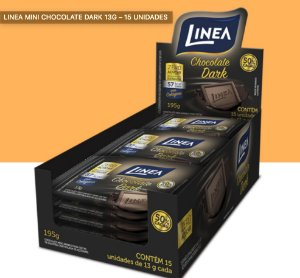 Chocolate Mini Barra Dark Linea 195g