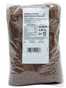Chocolate em Flocos Ao Leite Caravella 2,05 kg
