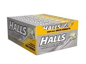 Drops Halls Menta Prata Mondelez 588g
